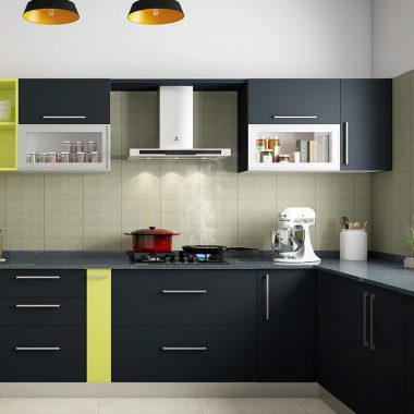 L Shaped Small Modular Kitchen Designs Archives Aapka Furniture