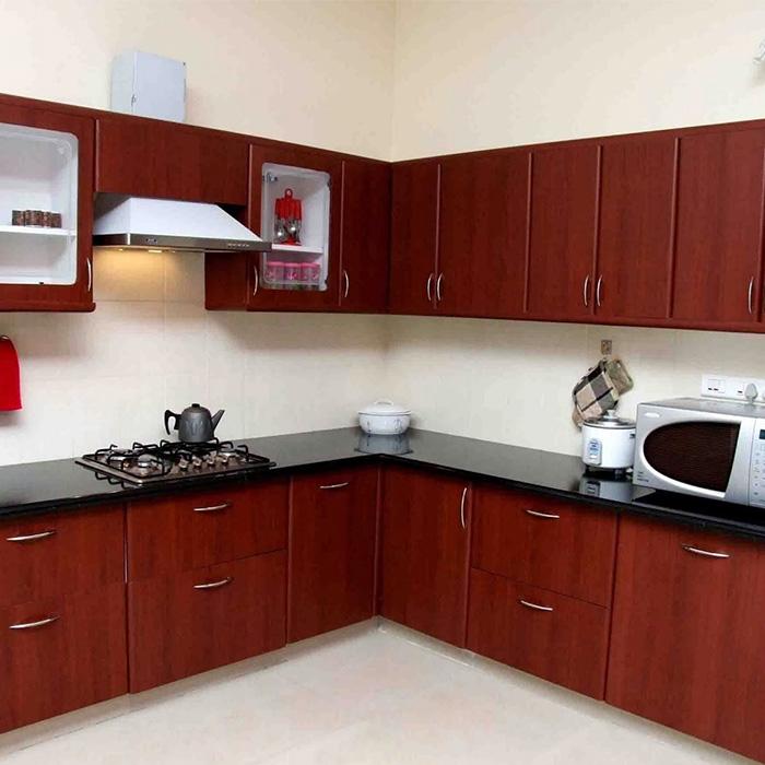 L Shaped Modular Kitchen In Pune Aapka Furniture